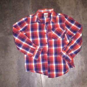 Okie dokie Flannel Shirt